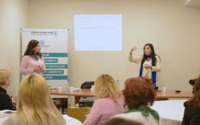 Taller de comunicación para candidatas y lideresas