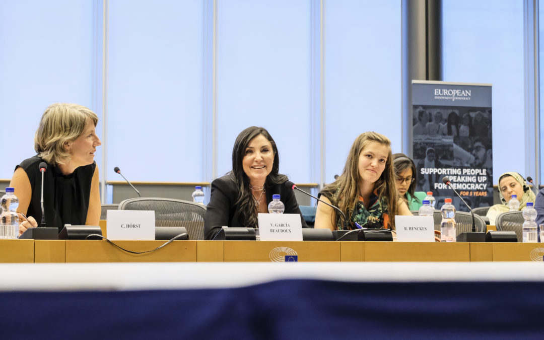 Conferencia en el Parlamento Europeo, Bruselas