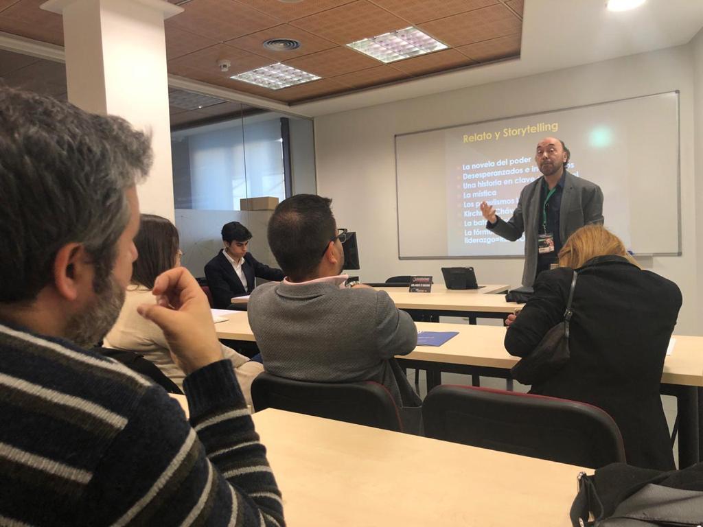 Cumbre mundial de comunicación política en Madrid2