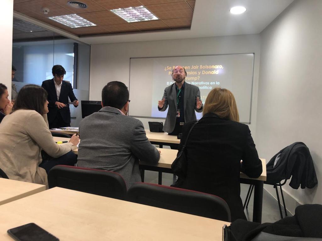 Cumbre mundial de comunicación política en Madrid3