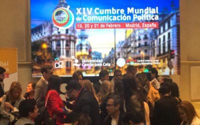 Cumbre mundial de comunicación política en Madrid