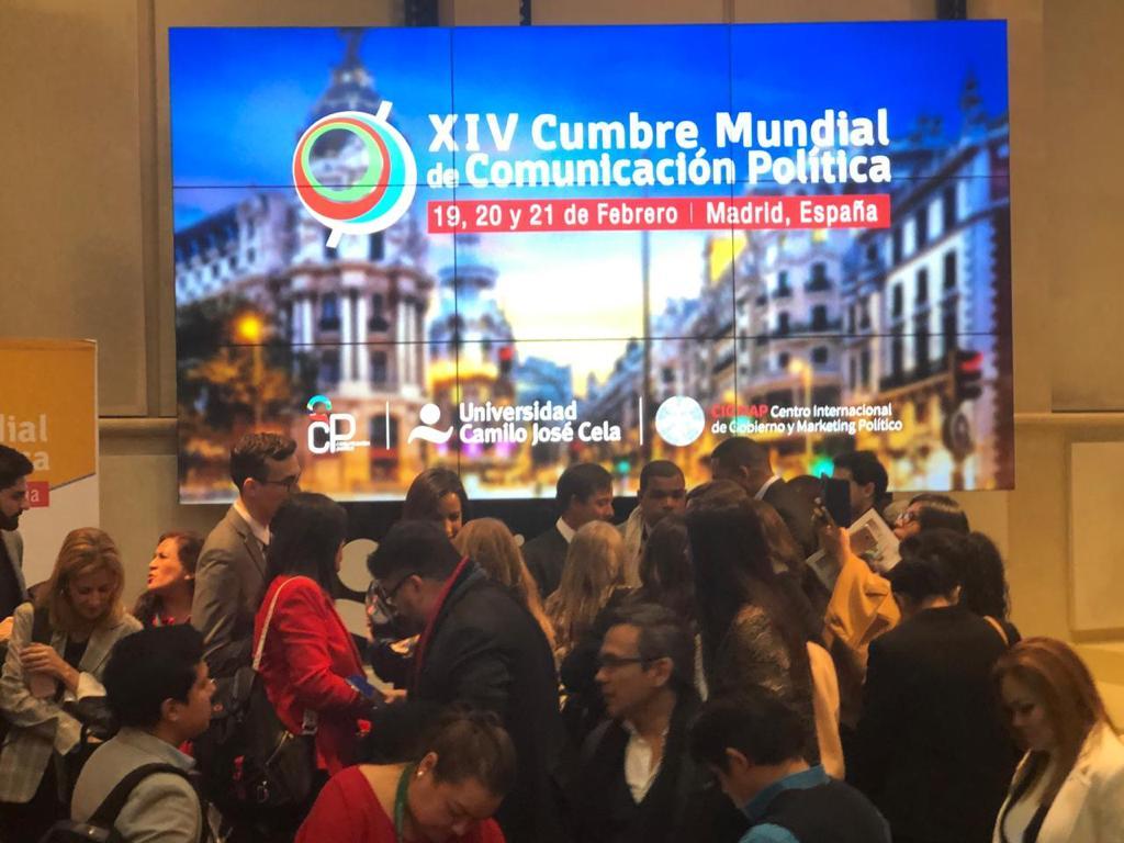 Cumbre mundial de comunicación política en Madrid4