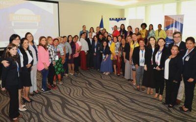 Candidatas panameñas en curso de la OEA y el Tribunal Electoral