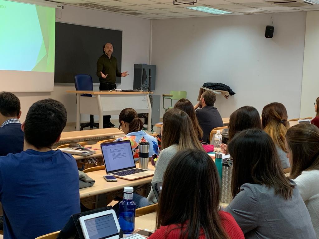 En Madrid, clase en el Master en Estudios Avanzados1