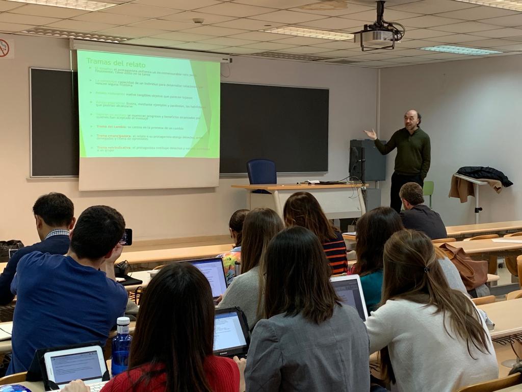 En Madrid, clase en el Master en Estudios Avanzados2