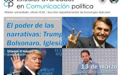 En la Universidad Complutense de Madrid, analizaremos el poder de los relatos políticos