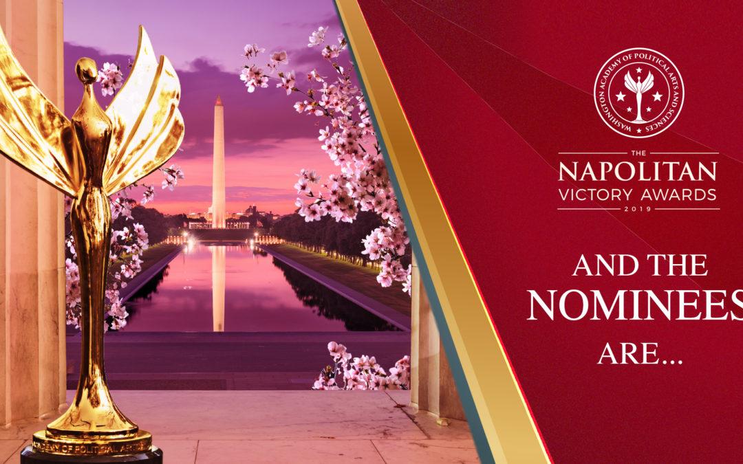 Nominados a un premio por la Academia de Washington de Artes y Ciencia Política