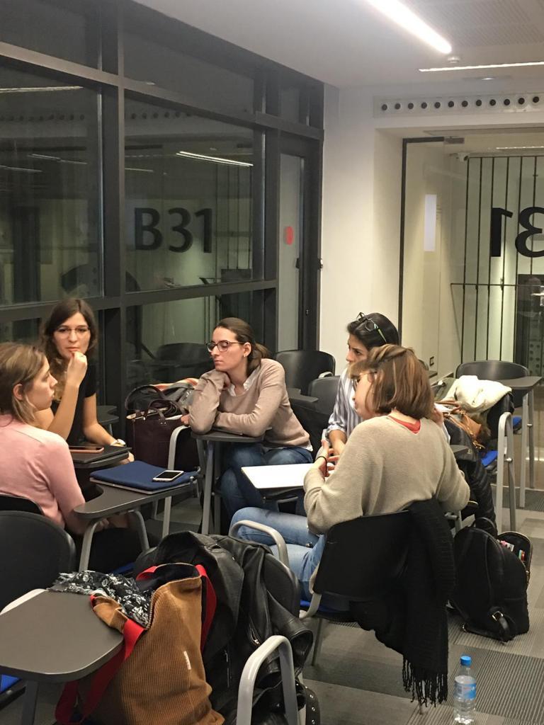 Barcelona, curso ComPol en Univ. LLull
