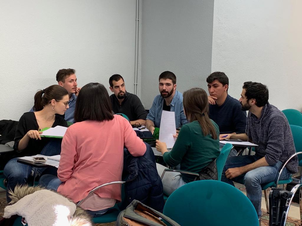 En Barcelona, estuvimos en el Master en Marketing y Comunicación Política