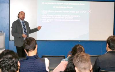 En Madrid, dimos clases sobre procesos de toma de decisión y liderazgo