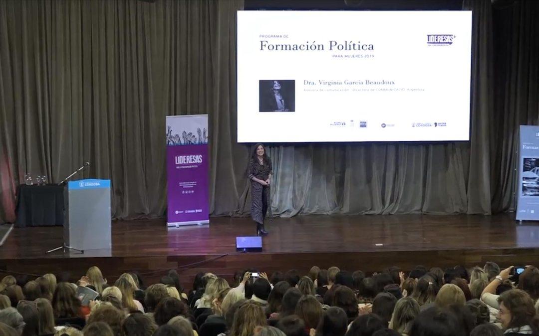 Formación Política para Mujeres – Lideresas 2019