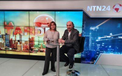 Entrevista en NTN24, Colombia