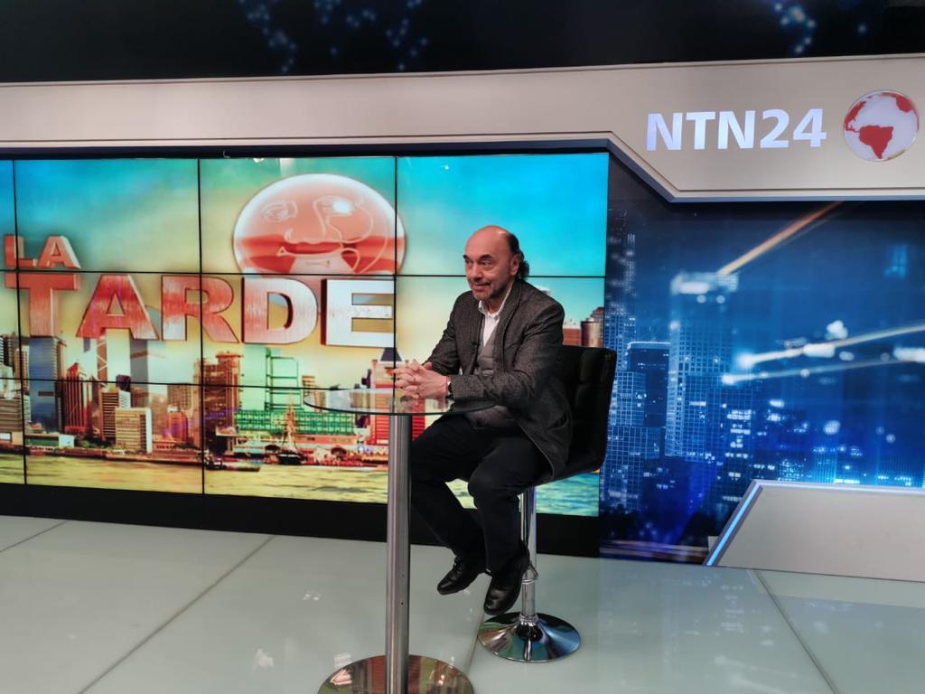 Entrevista en NTN24, Colombia2