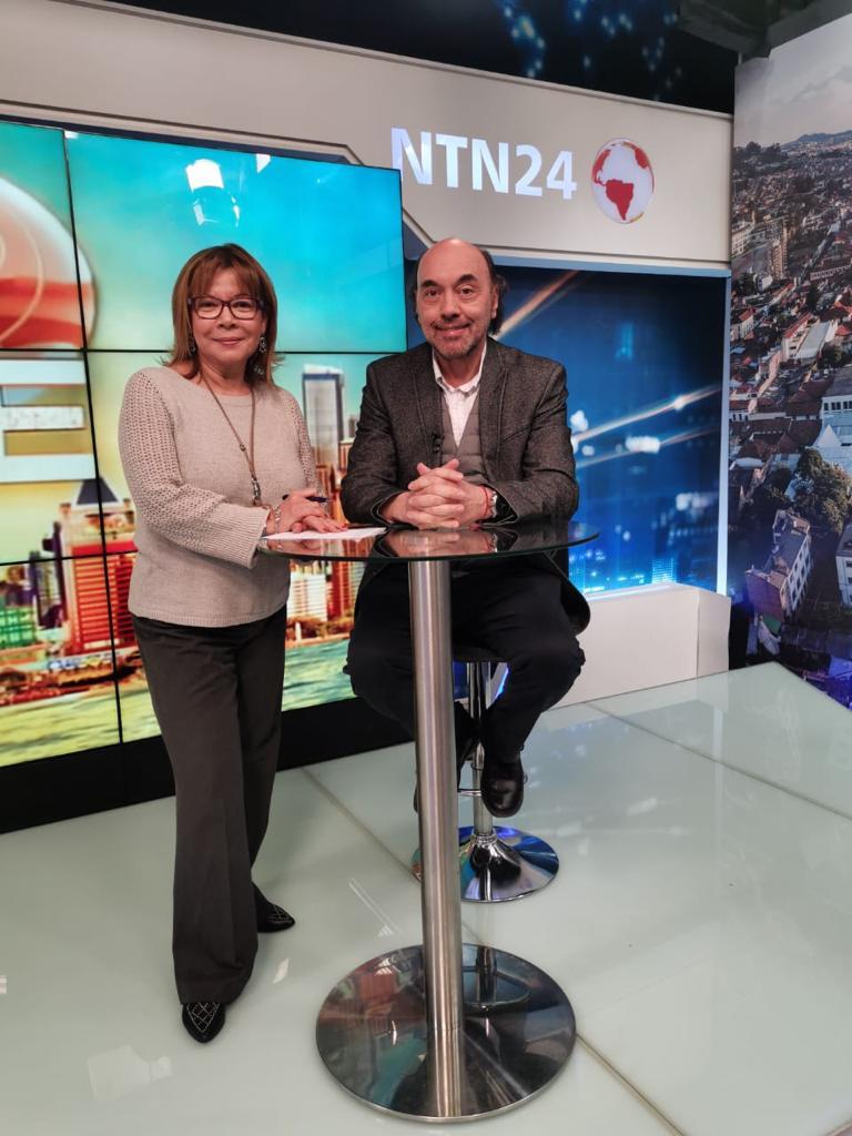 Entrevista en NTN24, Colombia3