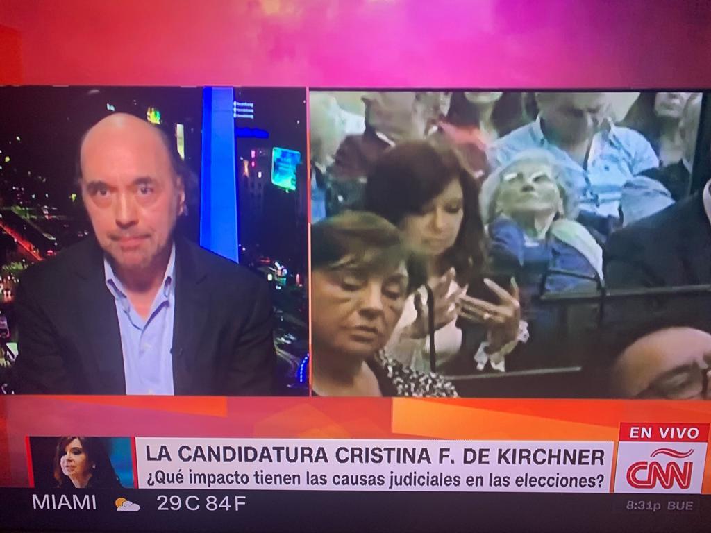 Nuevamente en CNN analizamos la semana politica argentina (5)