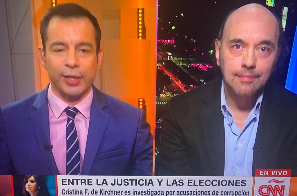 Nuevamente en CNN analizamos la semana política argentina