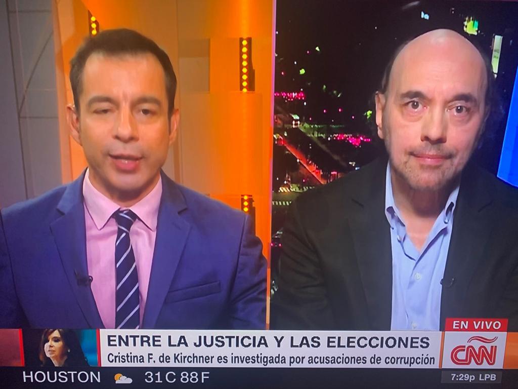 Nuevamente en CNN analizamos la semana politica argentina (6)