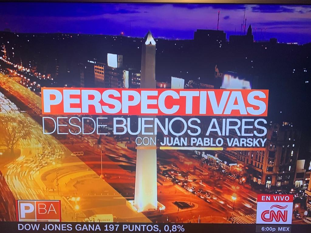 Nuevamente en CNN analizamos la semana politica argentina (7)