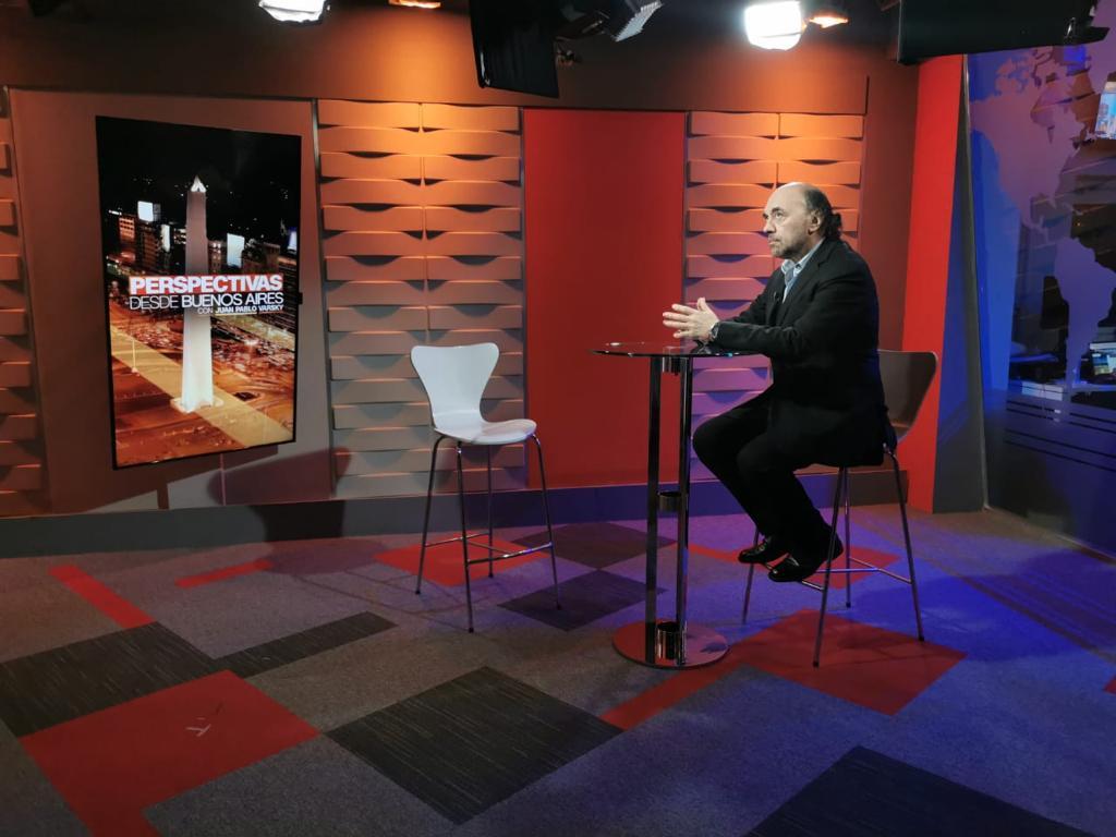 Nuevamente en CNN analizamos la semana politica argentina 8