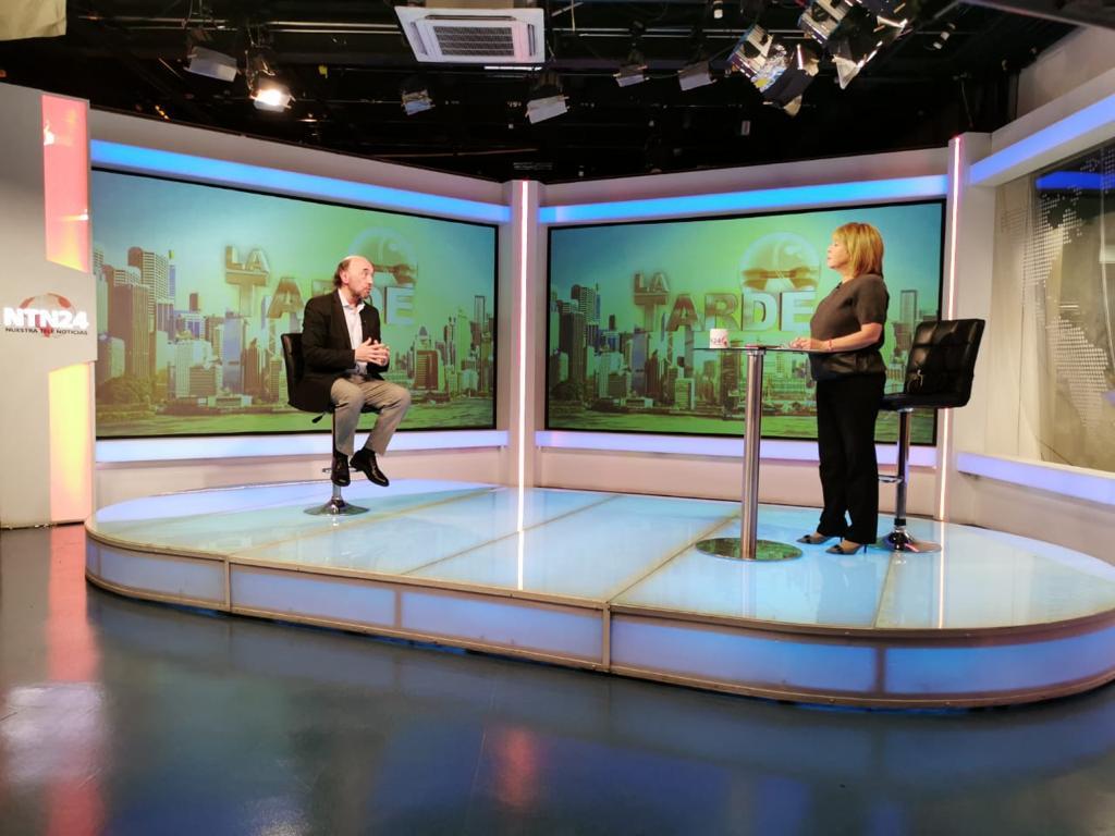 Entrevista para NTN24, Bogotá (1)