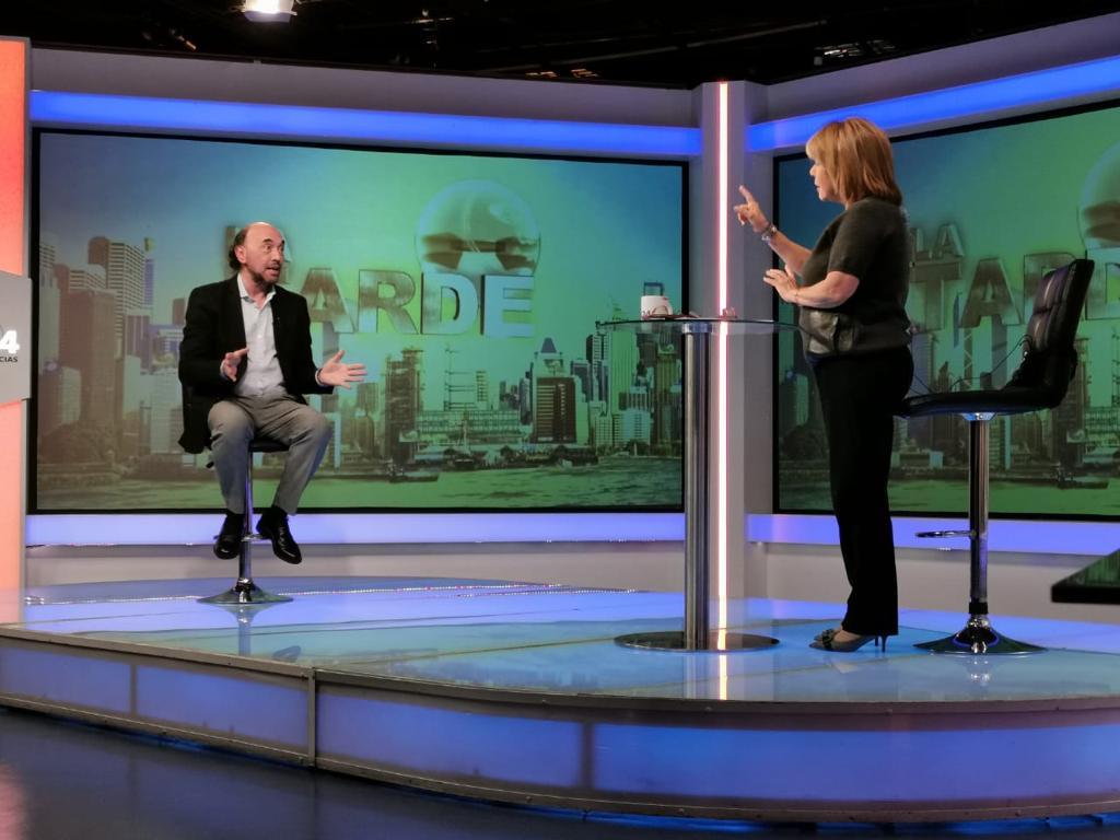 Entrevista para NTN24, Bogotá (3)
