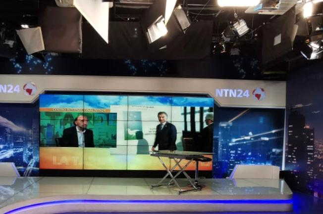 Entrevista para NTN24, Bogotá (4)
