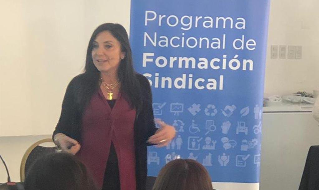 Formación para lideresas sindicales con la Secretaria de Trabajo, Presidencia de la Nación