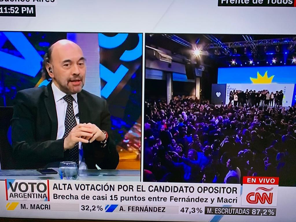 En piso de CNN, analizamos los resultados de las PASO Argentina 2019 (4)