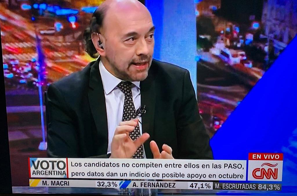 En piso de CNN, analizamos los resultados de las PASO Argentina 2019