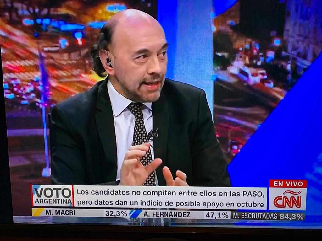 En piso de CNN, analizamos los resultados de las PASO Argentina 2019(1)