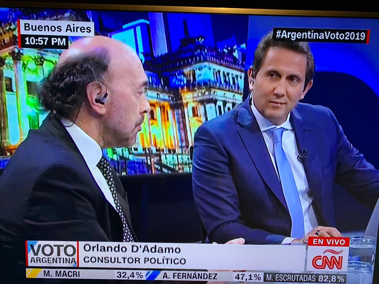 En piso de CNN, analizamos los resultados de las PASO Argentina 2019(7)