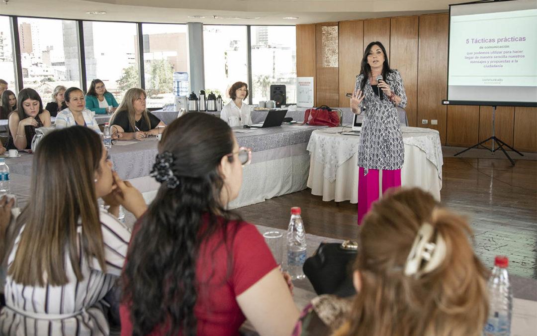 Jornada con mujeres políticas en el senado de Paraguay