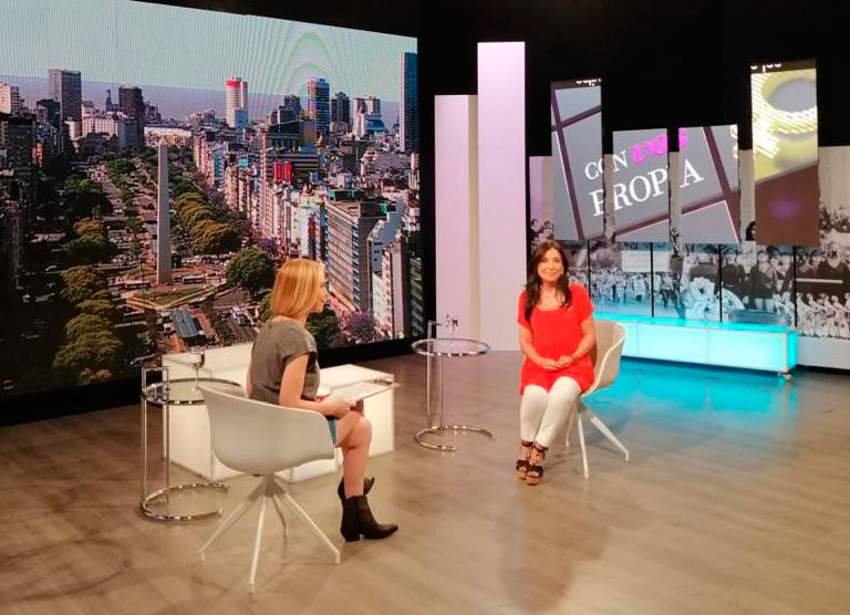 En la TV conversamos sobre mujeres y medios de comunicación