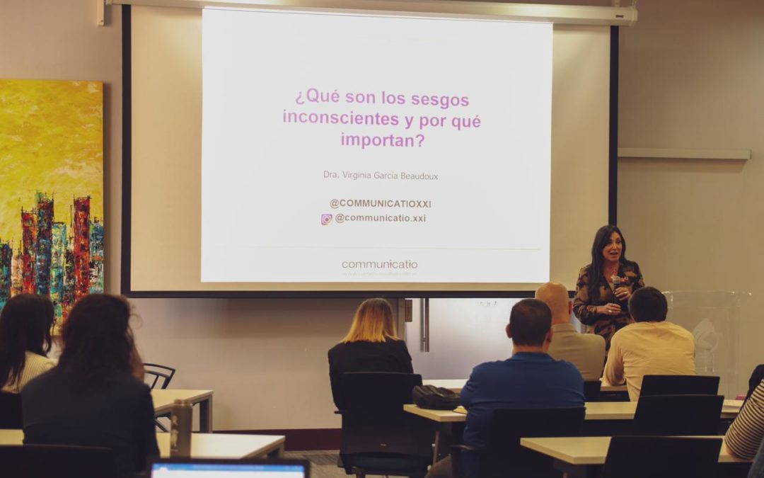 Actividad sobre diversidad, inclusión y comunicación para empresas