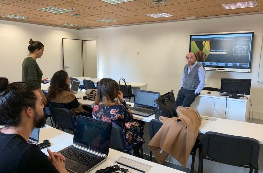 En Madrid, en el Master de Asesoramiento de Imagen y Consultoría Política