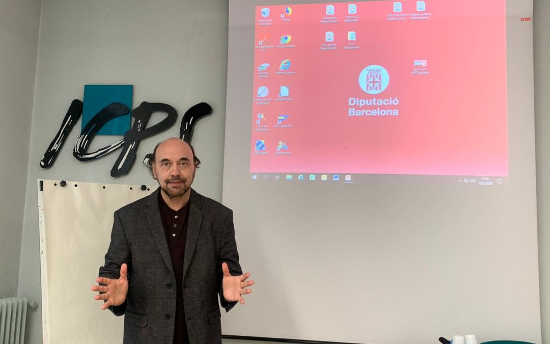 En Barcelona, en el Master en Marketing Político de la UAB