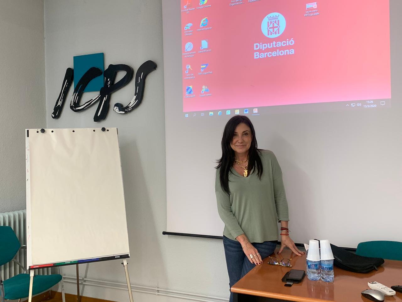 En Barcelona, en el Master en Marketing Político de la UAB2
