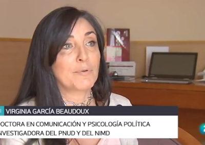 Entrevista a Virginia García Beaudox en RTVE – Televisión Española