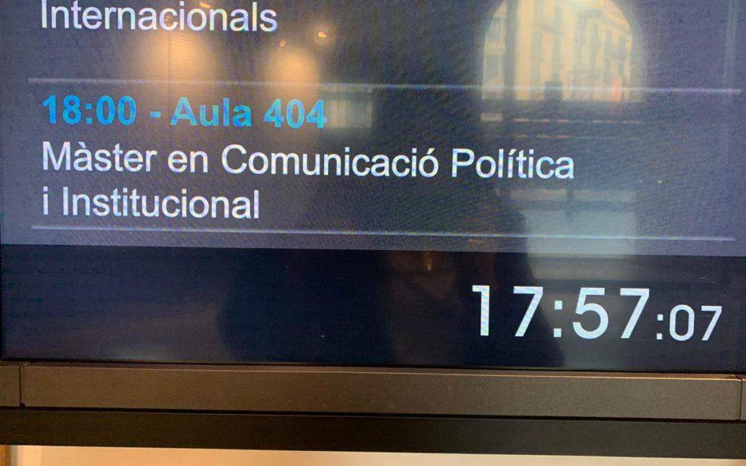 En en Master en Comunicación Política e Institucional de la Universidad Pompeu Fabra, explicamos cómo trabajar la comunicación y la proyección del liderazgo cuando quienes lideran, gobiernan y comunican son mujeres de la política