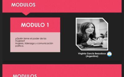 Capacitación en Bolivia con mujeres políticas y candidatas