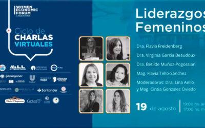 Hablamos sobre liderazgos políticos de las mujeres en el Women Economic Forum
