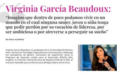 Entrevista a Virginia Garcia Beaudoux en Rocking Talent