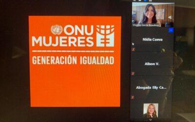 Junto a ONU Mujeres, en Ecuador