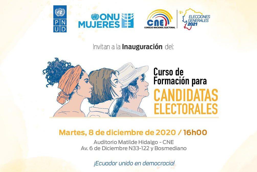 Taller para candidatas Ecuador 2021
