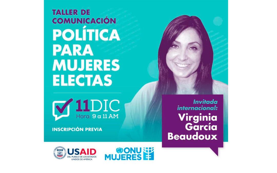 Comunicación política para mujeres electas