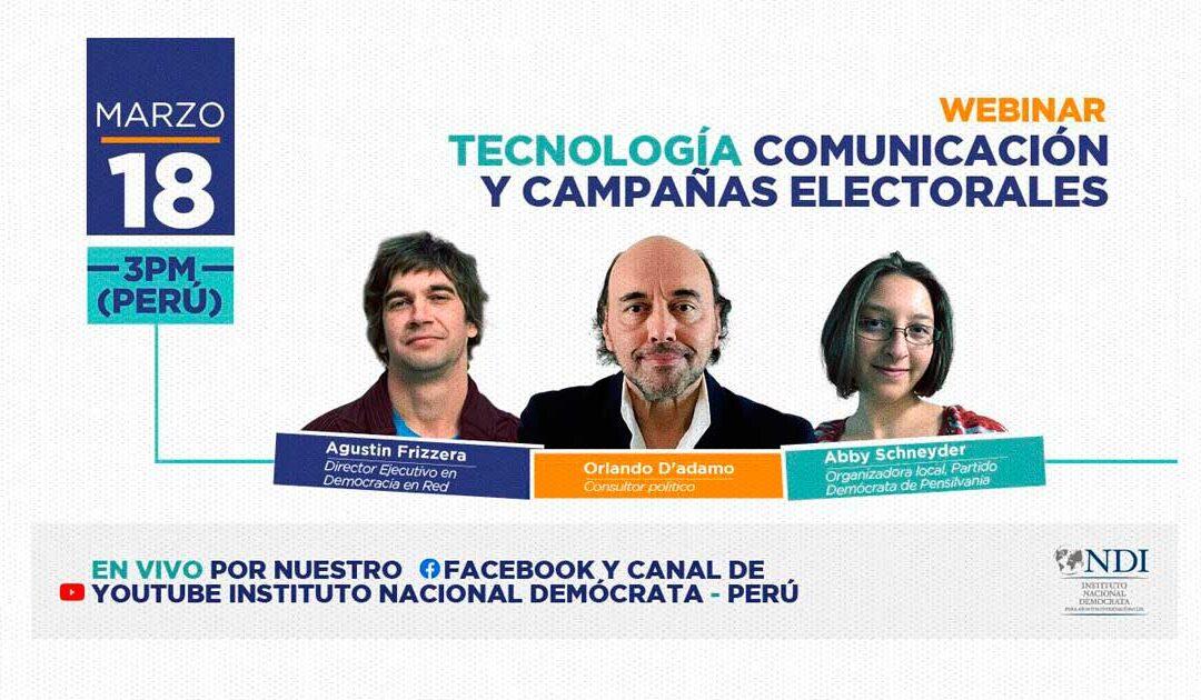 Orlando D'Adamo dialogó en Perú sobre comunicación y campañas actuales