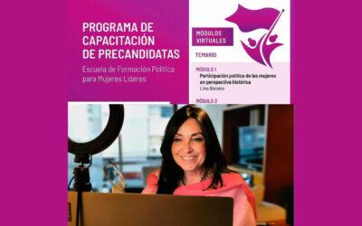 Entrenamiento de precandidatas en Paraguay