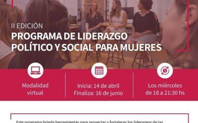 Nueva sesión de herramientas de liderazgo con mujeres del sector social y productivo
