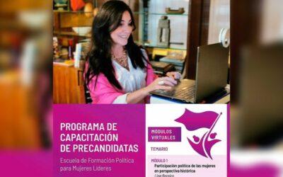 Nuevo taller con precandidatas en Paraguay