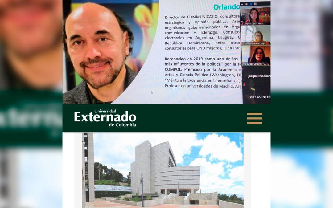 Segunda semana en la Especialización en Marketing Político y Estrategias de Campaña, en Colombia